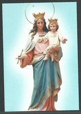 Estampa de la Virgen Maria Auxiliadora andachtsbild santino holy card santini