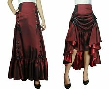 nwot 3-Way Corset Lace Up Victorian Steampunk Vampire Goth Skirt Plus Size 20