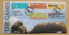COMMONWEALTH GAMES 2002 BENHAM FDC MANCHESTER H/S SIGNED BY SWIMMER SARAH PRICE