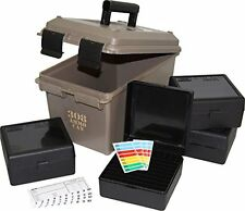 NEW MTM ACC308 308 Caliber Ammo Can with 4 RM 100 Boxes Dark Earth