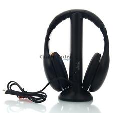 5 in 1 Wireless Headset Headphone Earphone w FM Transmitter for MP3 PC TV HK