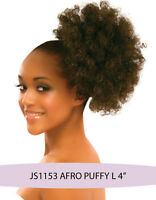 Synthetic Hair Drawstring Ponytail - AFRO Puffy