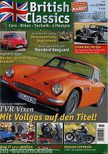 British Classics 3 12 2012 Brough Superior MG WA TVR Vixen Standard Vanguard MGB
