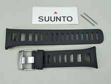 Suunto rubber watch band strap kit Quest Black includes pins SS018489000