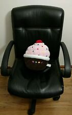 "12"" Dylans Candy Bar Plush Pillow Soft Cupcake Doll Desert Cute Gift Chocolate"