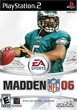 Madden NFL 06 2006 Video Game For SONY PlayStation 2 PS2 Console System