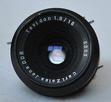Carl Zeiss Jena DDR Tevidon 16mm f/1.8 Cine Lens Bayonet Mount German