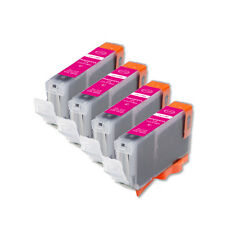 4 NEW MAGENTA Ink Cartridge + smart chip for Canon CLI-8M iP4300 IP4500 MP500