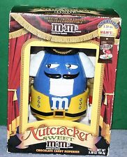 Collectible M&M's NUTCRACKER SWEET Candy Dispenser - New In Box