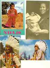 8 NATIVE AMERICAN POSTCARDS & 3 GREETING CARDS MINT FREE WORLD SHIPPING