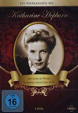 DOPPEL-DVD - Ein Wiedersehen mit Katharine Hepburn - Der Löwe im Winter u.a.