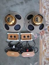 "Tannoy Gold LSU/HF/12/8 12"" Full Range Speakers w/ Crossovers."