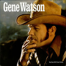 """GENE WATSON """"No One Will Ever Know"""" NEW FACTORY SEALED 1980 LP"""