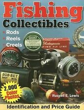 Fishing Collectibles Identification and Price Guide Book Rod Reels and more