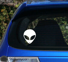 Alien Smile car decal sticker monster ship rockstar UFO truck jeep run