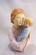 Edna Hibel Judy and Child Figurine Kaiser Porcelain Section III