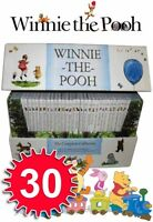 Winnie the Pooh Complete Collection 30 Books Box Set BN