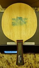 Nittaku Millionblade Fl Handle table tennis pingpong Blade Old tag very RARE.