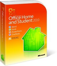 Microsoft Office 2010 HOME AND STUDENT autentico 3 User FAMILY PACK dvd Word Excel