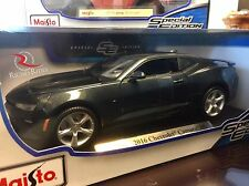 Maisto 1:18 Scale Special Edition Diecast Model- 2016 Chevrolet Camaro SS (Gray)