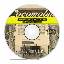 Automobile Magazine, 1899-1902, 25 Issues, Early Age of Cars, PDF CD C98