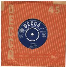 BILLY FURY Jealousy / Open your arms Decca F 11384 classic 1961 pop