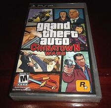 Grand Theft Auto: Chinatown Wars (PSP, 2009) ORIGINAL BLACK LABEL FACTORY SEALED