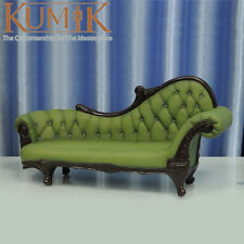 """KUMIK AC-7 Model Toys 1/6 Green Armchair Leather Sling Chair Couch F 12"""" Figure"""