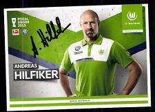 Andreas Hilfiker Autogrammkarte VFL Wolfsburg 2015-16 Original Signiert+A 116372