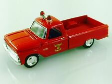RACING CHAMPIONS 65 1965 FORD F-100 PICKUP TRUCK TAYLOR MICHIGAN FIRE DEPARTMENT