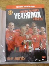 2003/2004 Manchester United: Official Yearbook. Footy Progs/Bobfrankandelvis, ex