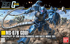 BANDAI HG Mobile Suit Gundam 1/144 MS-07 Gouf REVIVE Ver. HGUC USA Seller 202301