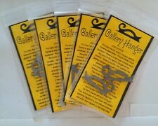 Stained Glass Supply - Gallery Hangers (5 sets) Heavy Duty 60/40 Solder Plated