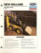 Equipment Brochure - New Holland - L-250 Skid Steer Loader - 1989 (E1336)