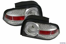 FORD MUSTANG LED EURO ALTEZZA REAR TAIL LIGHT LAMP LENS CHROME 96 97 98