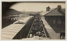 Photograph of Pack Mules arriving at East Station, Tientsin, 1924 (C22497)