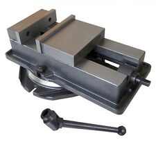"New! 4"" Milling Machine Lockdown Vise with Swivel Base Hardened Metal CNC Vise"