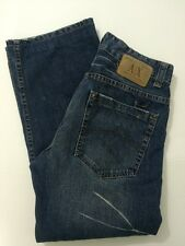 Armani Exchange AX Button Fly Jeans Men's 32x28 33 Short Rn#91714