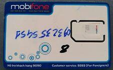 Vietnam Mobifone Prepay Sim Card Travel Micro Nano Prepaid Karte Datenoptionen