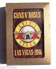 Guns N' Roses Sold Out Las Vegas Shows T-Mobile Arena 4/8/16 VIP Playing Cards