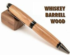 Whiskey Barrel Wood Pen - Cigar Parker Ballpoint Pen Handcrafted (AS-CI-05)
