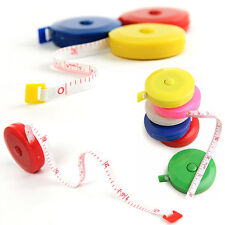 Hot Mini Ruler Tape Measure Retractable 60inch Sewing Cloth Dieting Tailor 1.5M