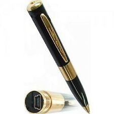 Hidden camera NO SPY PEN DVR Camcorder Fast Processor REAL BRASS, NEW 2013 MODEL