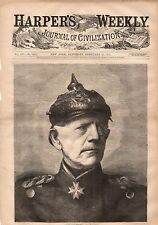 1871 Harpers Weekly February 11 - The Siege of Paris Fold out; The Red Cross;