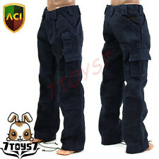 ACI Toys 1/6 Moda 739_ Navy Blue Cargo Pants _PMC Military Adventure Now  AT020O