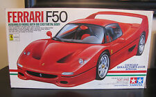 TAMIYA FERRARI F50 FACTORY ASSEMBLED RED ITEM 23202 29800 1/12 CAR MODEL MIB