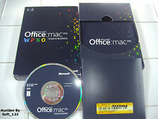 MS Microsoft Office MAC 2011 Home and Business Licensed for 2 MACs =NEW BOX=