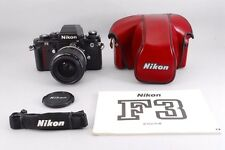 【Excellent++++ !!】Nikon F3HP 35mm +28/50 f3.5 Lens from japan #1234