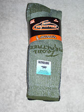 2 Pair - Realtree Socks - Wool Blend Boot - #9674 - Assorted - L - 10 TO 13