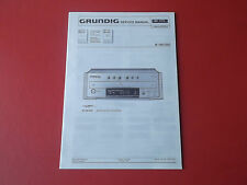 Grundig M 100-CDC Finearts CD-Player org. Service Anleitung Manual
